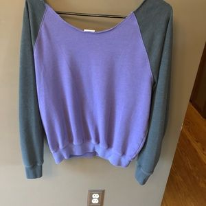 PINK Victoria's Secret Tops - SALE VICTORIAS SECRET OFF THE SHOULDER SWEATSHIRT